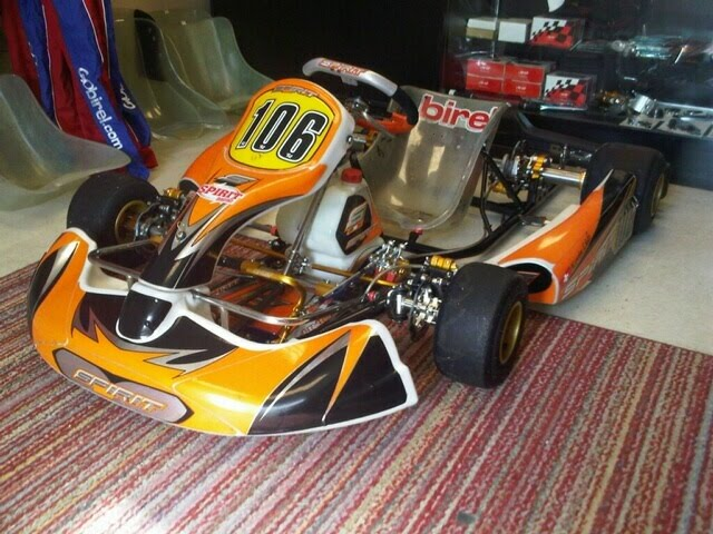 YAW MOMENT RACING: Pictures of my new shifter kart chassis