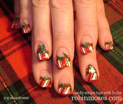 Cute Christmas Tree Nails On You
