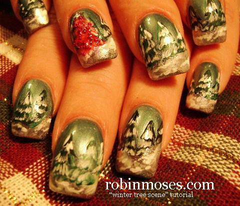 Robin Moses Nail Art December 2010