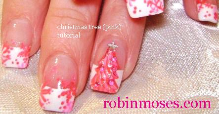 Nail Art By Robin Moses Christmas Nails Cute