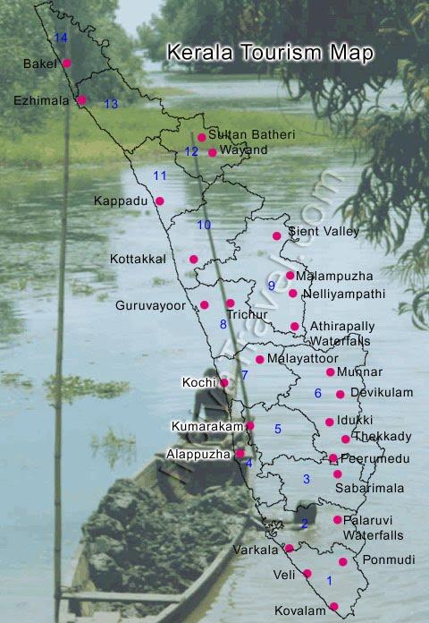 Tourist Places: Trip to Kerala | Kerala Travels | Kerala ...
