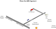 Map To AMK Agrotech