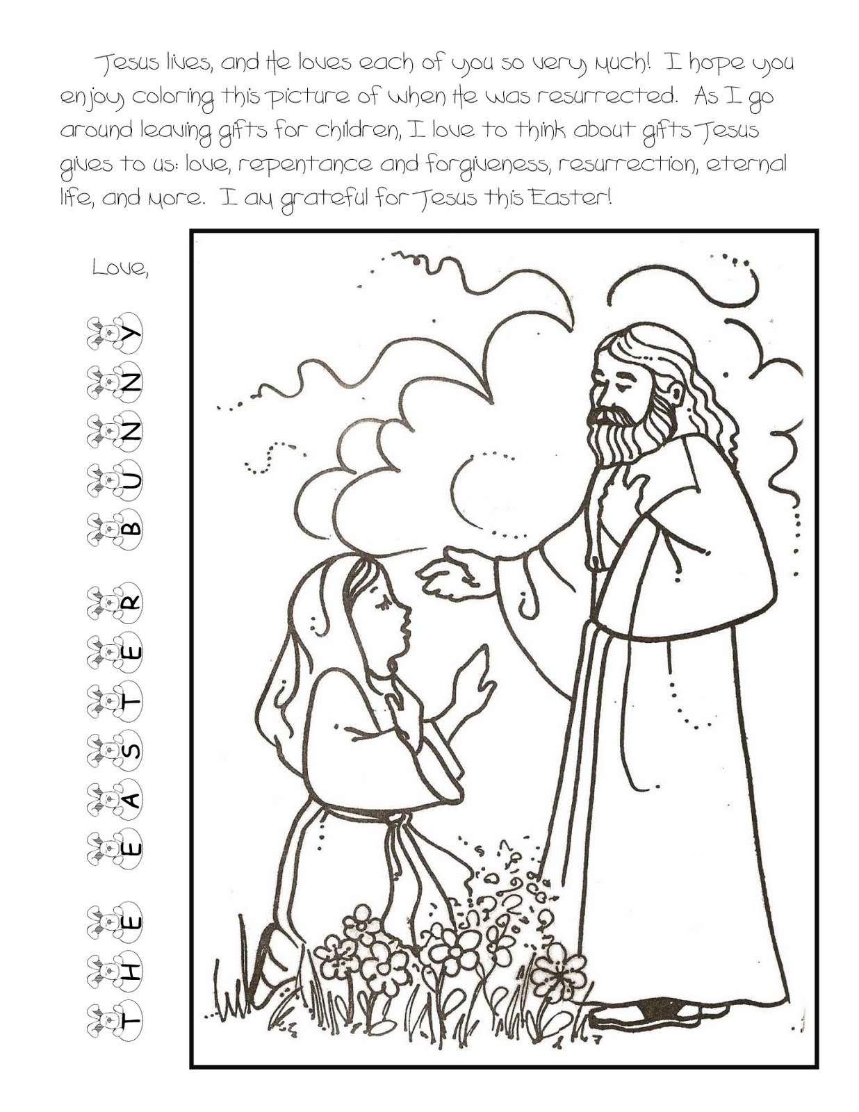 Kidstuff for Lds easter coloring pages
