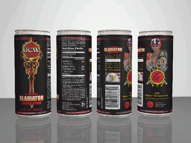 GCW Energy Drink