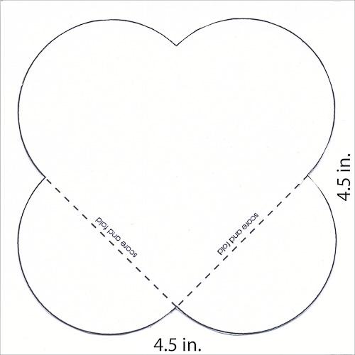 Cre8n' Memories: Valentine Pocket Pattern
