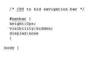 Hide Blogger Navigation Bar – CSS Hack   Smashing Tips