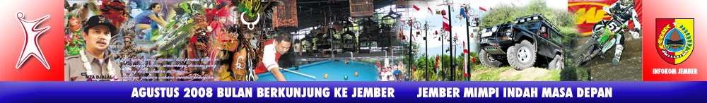 Bulan Berkunjung Ke Jember