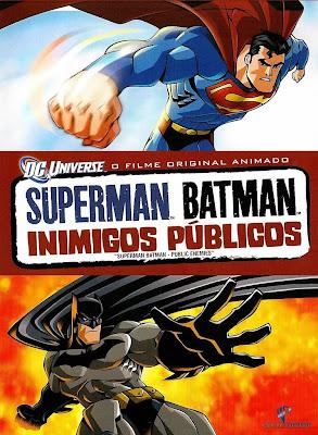 Superman/Batman: Inimigos Públicos - DVDRip Dual Áudio