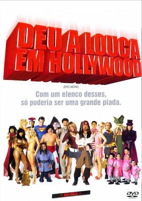 Deu a Louca em Hollywood - DVDRip Dublado