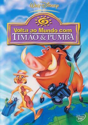 Volta ao Mundo Com Timão e Pumba - DVDRip Dublado