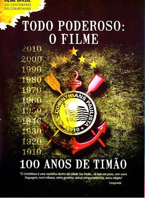 Todo Poderoso: O Filme - 100 Anos de Timão - DVDRip Nacional