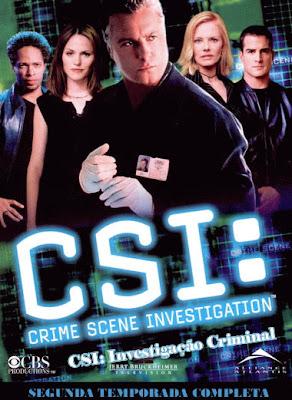 CSI: Investigação Criminal - 2ª Temporada Completa - DVDRip Dual Áudio