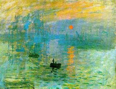 Impressão - Nascer do Sol, Monet.