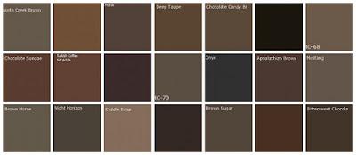 Benjamin Moore Organic And Inorganic Paint Colors