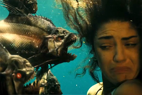 The Fashion Victim: By All Means, Go In The Water: Piranha 3-D