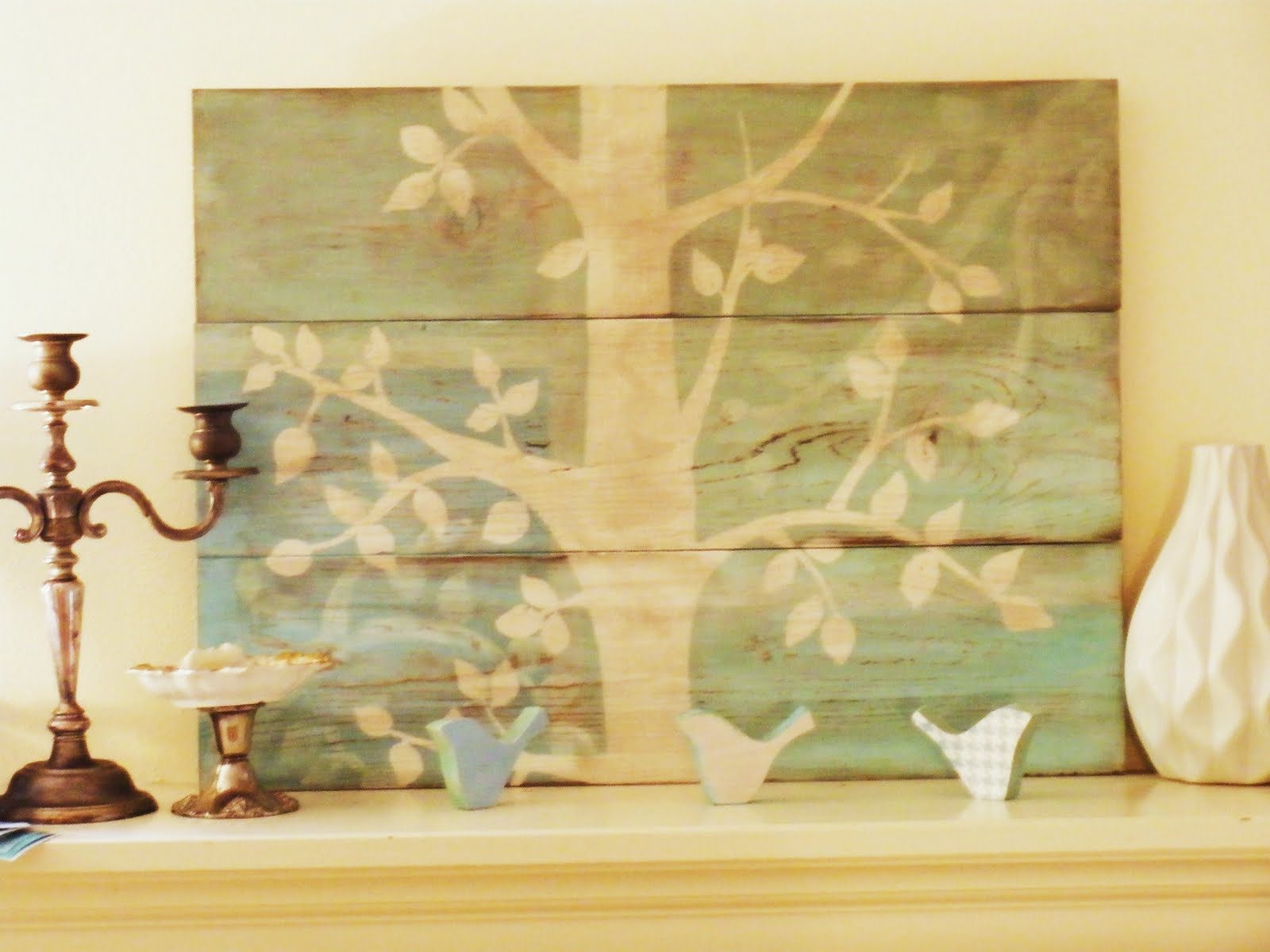 Remodelaholic | Anthropologie Inspired Art, DIY Project