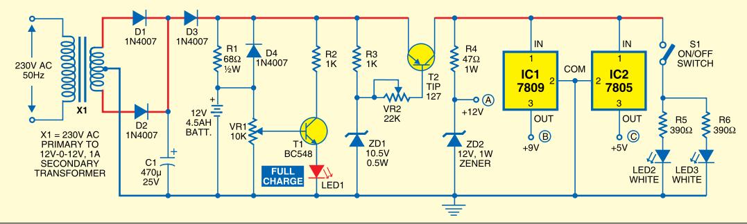 Electronics Everywhere Mini Ups System