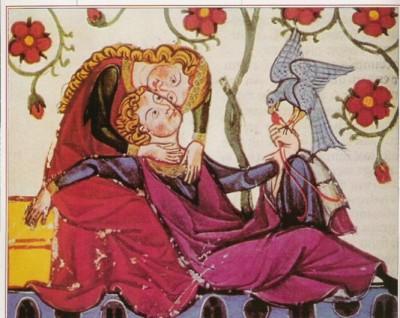 Resultado de imagen de El filósofo Pedro Abelardo y eloisa