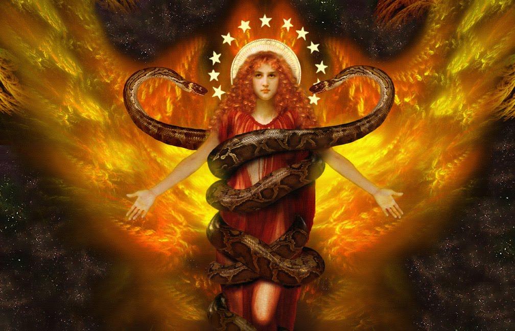 Sacred snake serpent rising milf - 4 2