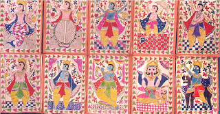 Indian god avatars art