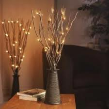 lamp designed as a tree