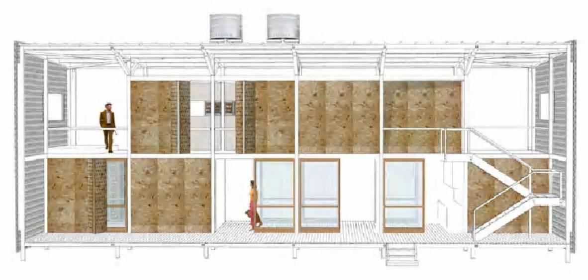 Residencia rr andrade morettin arquitectos tecno haus for Andrade morettin