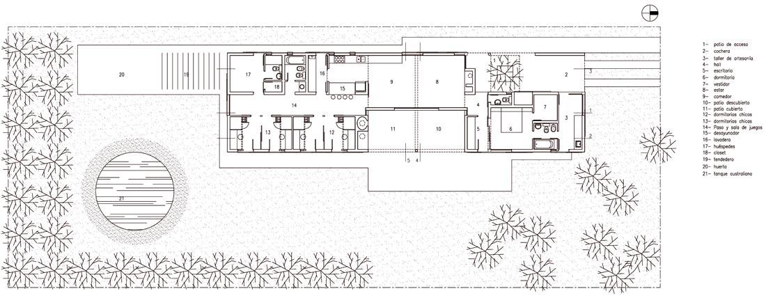Casa-en-Mercedes, Estudio-LGR, arquitectura, casas