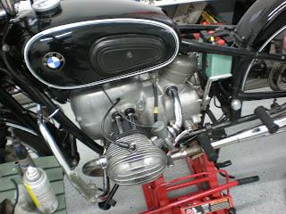 1965 bmw r60 2 restoration reinstallation of parts begins