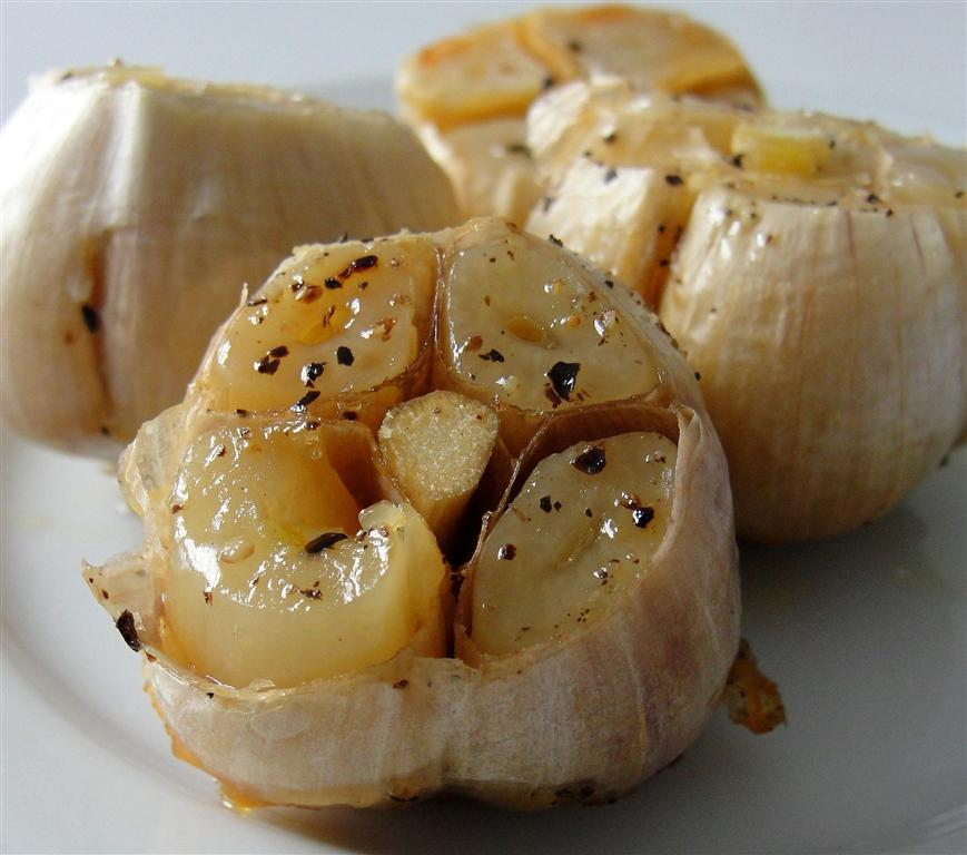 There's always thyme to cook...: Roasted Garlic