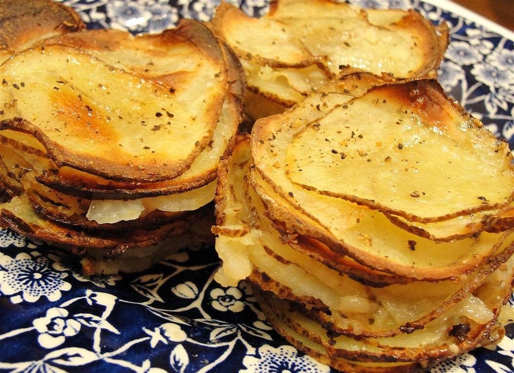 Muffin Pan Potato Gratins Recipe Dishmaps