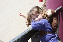 Katie at Santa Cruz Beach Boardwalk
