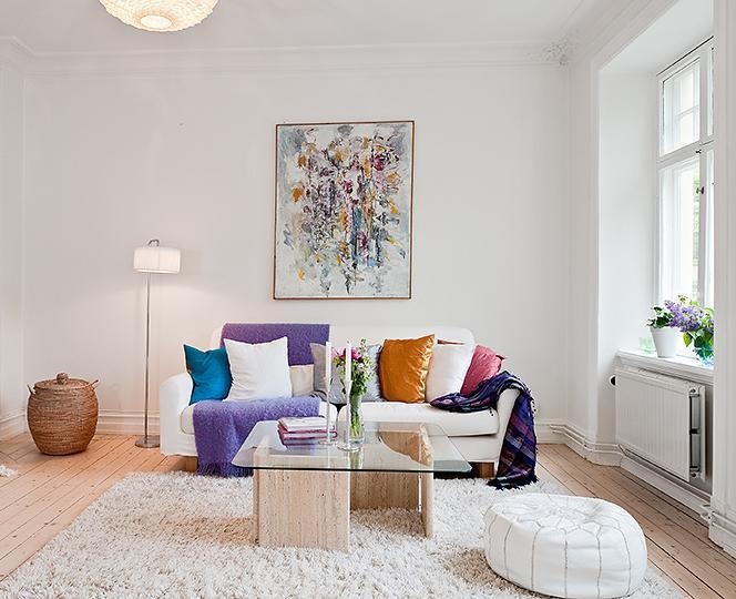 achados de decoracao colorindo os ambientes mais. Black Bedroom Furniture Sets. Home Design Ideas