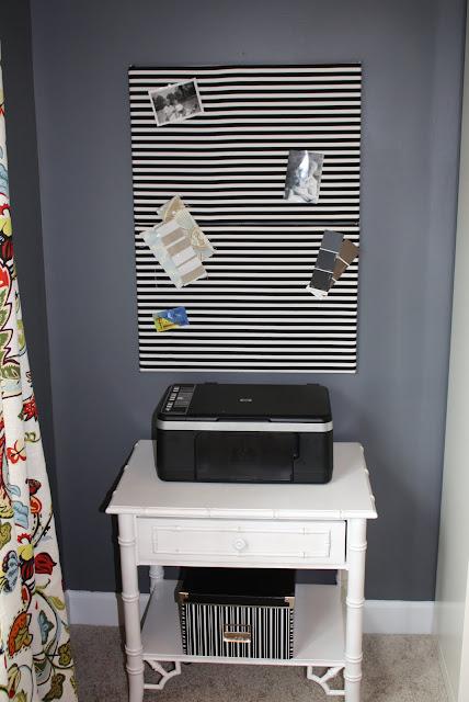 Antes e Depois: redecoração da área externa e home office. Blog Achados de Decoração