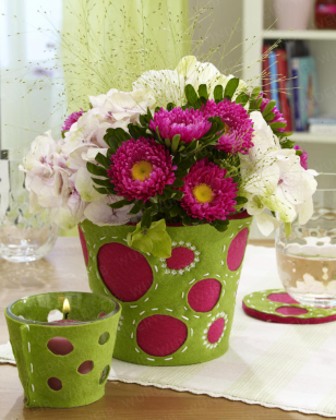 Inovadoras e simples ideias de arranjos florais. Blog Achados de Decoração