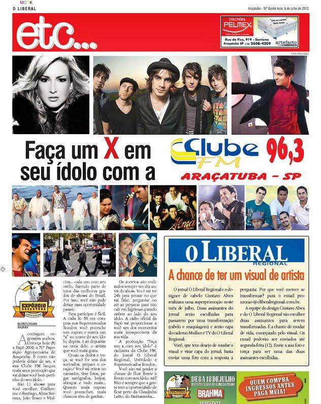 29eb7b5c8 Começou a Expô 2010 e o salão Gustavo Alves junto com o Jornal Liberal  Regional vão presentear duas assinantes