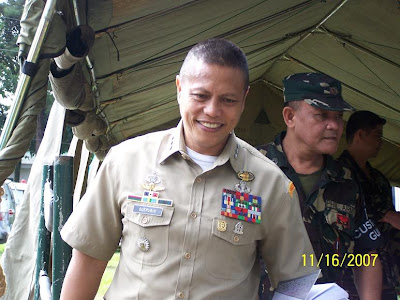 ... charged by CSAFP Gen H Esperon's ...