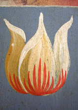 a simple tulip, with two main colours
