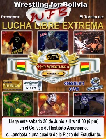WRESTLING FOR BOLIVIA