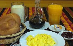 Desayuno - Break fast