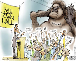 A Disgruntled Republican in Nashville: Last of the Town Hall Cartoons