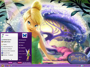 theme wallpaper tinker bell - photo #9