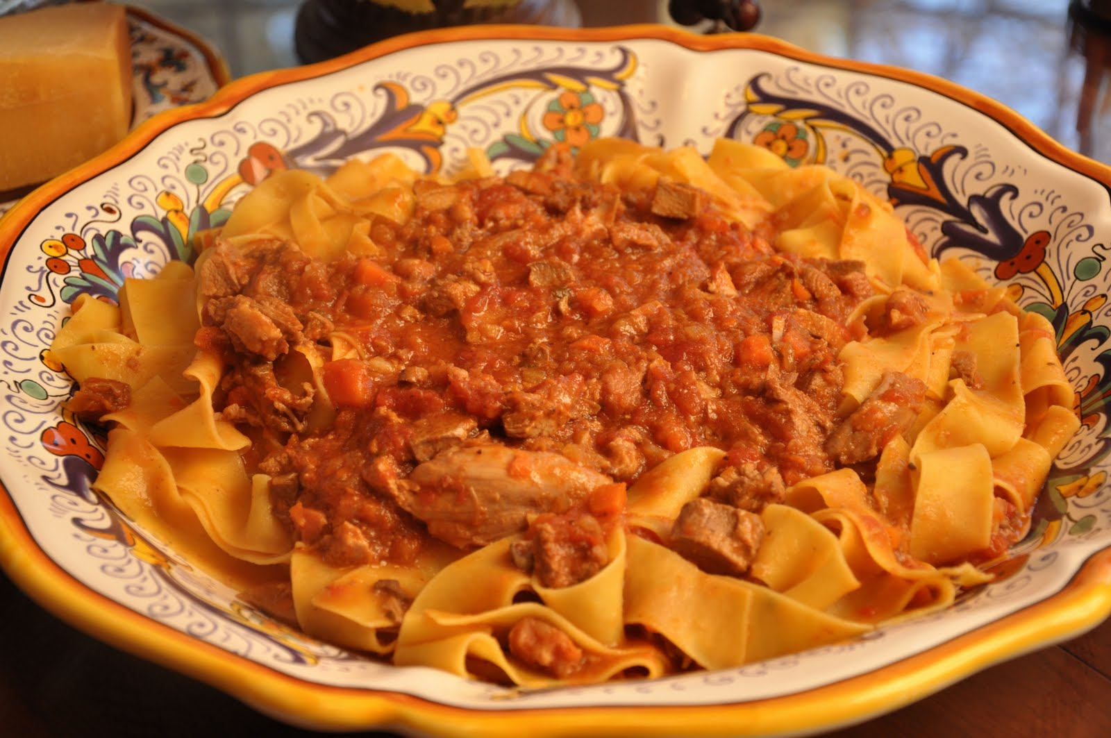 Pappardele Rachael Ray Show  Food  Bolognese With
