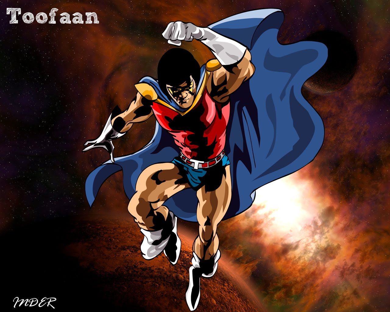Photoshop work: Superhero Wallpapers