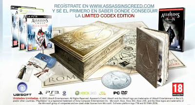 Limited Codex Edition de Assassin's Creed Brotherhood