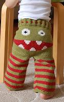 вязание штанишки