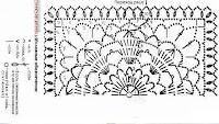 схема летней вязаной юбки