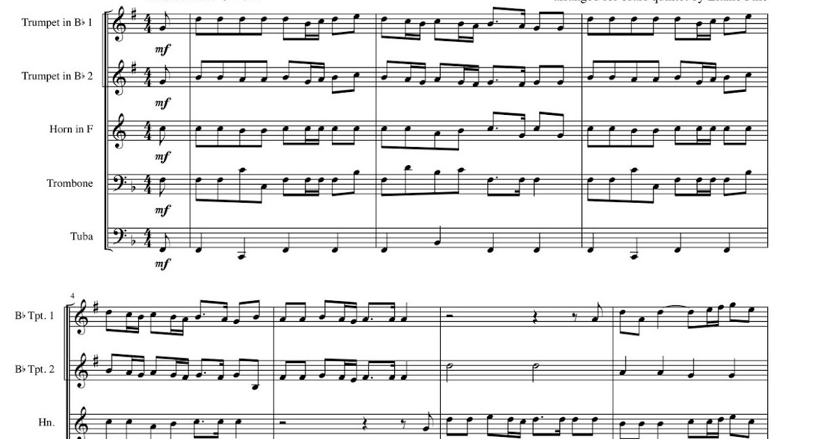 All Music Chords free french horn sheet music : Elaine Fine's Thematic Catalog: Transcription: Marcello Psalm 19 ...