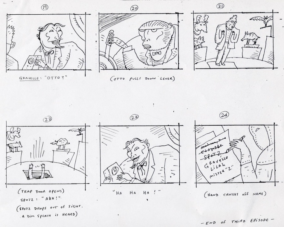 The Temptation News Blank Storyboard Worksheet