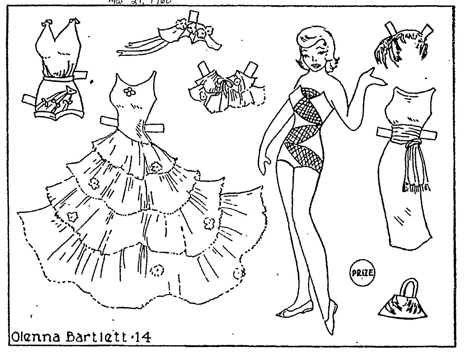 Mostly Paper Dolls: June 2010