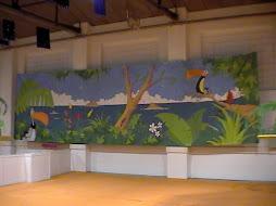 Mural 3x15 m